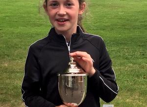 Golfing sensation, Grace, wins Girls 10 U.S. Kids European Title.