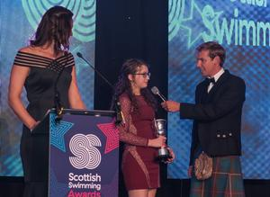Niamh Peakman crowned Scottish Synchronised Swimmer of the Year!